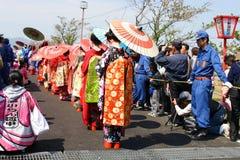 Festival japonés Imágenes de archivo libres de regalías