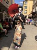 Festival japonais à Dusseldorf photos stock