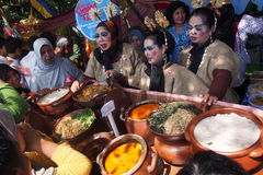 Festival jenang solo 2015 Royalty Free Stock Images