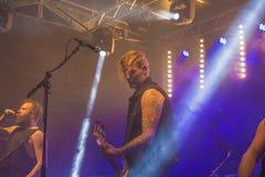 Festival joven Halden (Noruega) 15 de la cultura al 18 de abril de 2015, funcionamiento Imagen de archivo libre de regalías