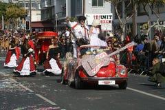 Festival Karnavali Lemesou 2017 do carnaval de Limassol foto de stock royalty free