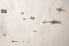 Festival kites Royalty Free Stock Images