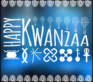Festival Kwanzaa. Holiday card Royalty Free Stock Photo