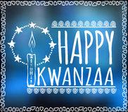 Festival Kwanzaa. Holiday card Royalty Free Stock Photos