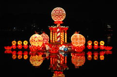 Festival Of Lanterns 2. The festival of lanterns in longtan park in beijing china Stock Photography