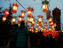 Festival of lanterns Stock Photography