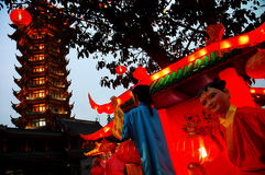 Festival of lanterns Stock Image