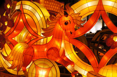 Festival lanterns Stock Photography