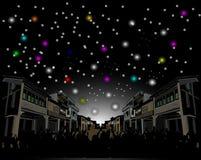 Festival leggero di inverno Fotografie Stock