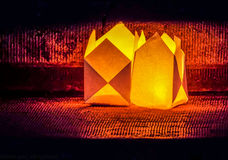 Festival ligero, Bucarest 2016 Foto de archivo