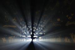 Festival ligero en Gante Imágenes de archivo libres de regalías