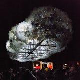 Festival ligero en Gante Foto de archivo libre de regalías