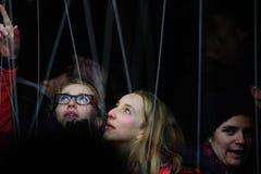 Festival ligero en Gante Foto de archivo