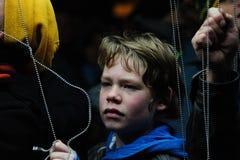 Festival ligero en Gante Fotografía de archivo