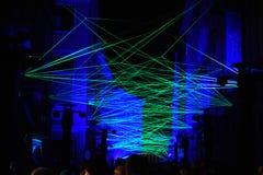 Festival ligero en Gante Fotos de archivo libres de regalías