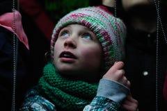 Festival ligero en Gante Fotos de archivo