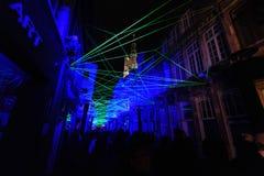 Festival ligero en Gante Imagen de archivo libre de regalías