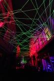 Festival ligero en Gante Imagenes de archivo