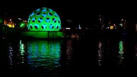 Festival of Light in Amsterdam,The Netherlands stock video