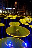 Festival of Light, Berlin, Germany - Ernst Reuter Platz. Every year there is a Festival of Light in Berlin, Germany royalty free stock photo