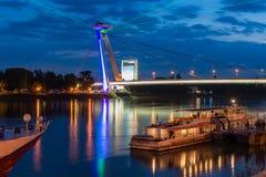 Festival of Light in Bratislava, Slovakia 2016 Royalty Free Stock Photography