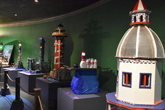 The Festival of Lighthouse contest at Maritime Aquarium in Norwalk, Connecticut Stock Photography