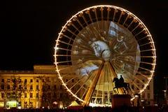 Festival of Lights 2009 in Lyon Stock Image