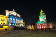 FESTIVAL OF LIGHTS 2010 in Berlin, Germany Stock Images