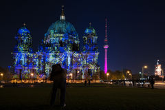 FESTIVAL OF LIGHTS 2010 in Berlin, Germany Stock Photo