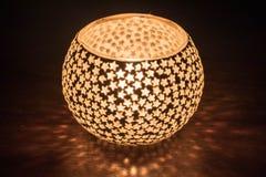 Festival of lights candle light diwali tealight holder royalty free stock photos