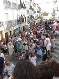 Festival local del pueblo Imágenes de archivo libres de regalías