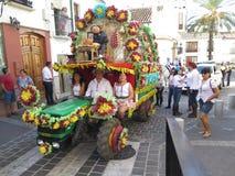Festival local del pueblo Fotografía de archivo
