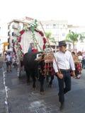 Festival local del pueblo Imagen de archivo libre de regalías
