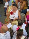 Festival local del pueblo Fotos de archivo