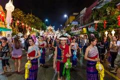 Festival 2014 Loi Krathong in Chiang Mai, Thailand Stockfoto