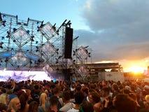 Festival Lollapalooza 2017 Imagem de Stock