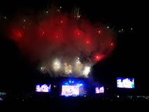 Festival Lollapalooza 2017 stock photos