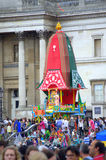 Festival Londres de Krishna imagens de stock royalty free