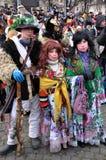 Festival Malanka Fest_5 de la Navidad Foto de archivo libre de regalías