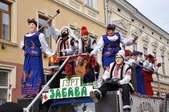 Festival Malanka Fest_31 de la Navidad Imagen de archivo libre de regalías