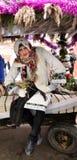 Festival Malanka Fest_29 de la Navidad Imagen de archivo libre de regalías