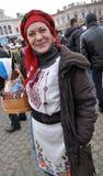 Festival Malanka Fest_36 de la Navidad Foto de archivo