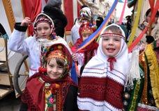Festival Malanka Fest_42 de la Navidad Imagen de archivo libre de regalías
