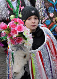 Festival Malanka Fest_52 de la Navidad Fotografía de archivo