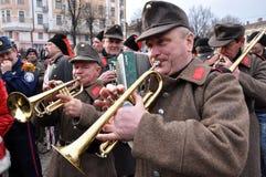 Festival Malanka Fest_56 de la Navidad Fotografía de archivo libre de regalías