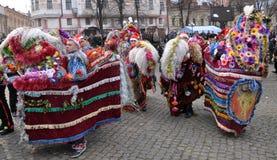 Festival Malanka Fest_59 de la Navidad Foto de archivo
