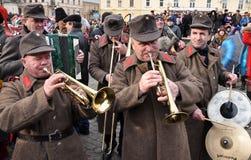 Festival Malanka Fest_55 de la Navidad Fotos de archivo libres de regalías