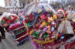Festival Malanka Fest_58 de la Navidad Foto de archivo
