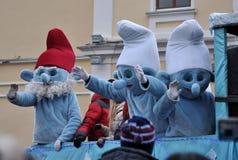 Festival Malanka Fest_61 de la Navidad Imagen de archivo