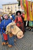 Festival Malanka Fest_60 de la Navidad Fotografía de archivo